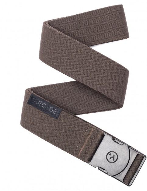Arcade Ranger Webbing Belt in Medium Brown