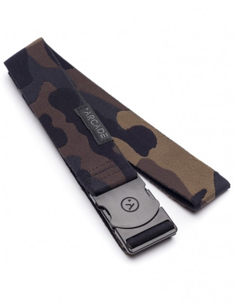 Arcade Sierra Camo Webbing Belt in Black/Grey
