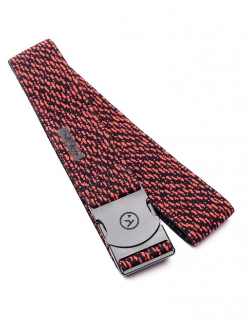 Arcade Static Webbing Belt in Black/Red