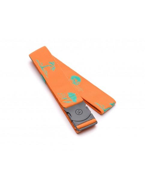 Arcade Strand Webbing Belt in Orange