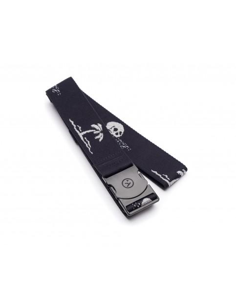 Arcade The Strand Webbing Belt in Black/Grey