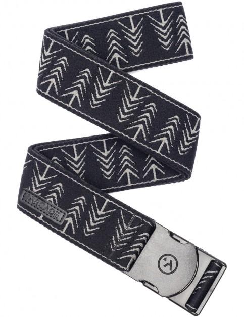 Arcade Timber Webbing Belt in Black/Heather Grey