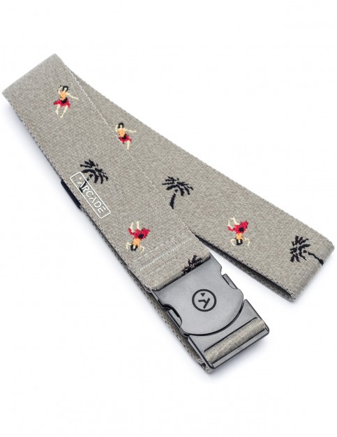 Arcade Tropic Webbing Belt in Grey