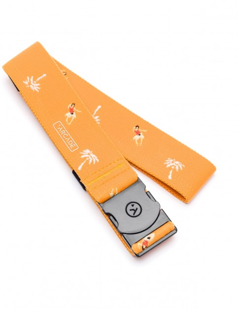 Arcade Tropic Webbing Belt in Melon