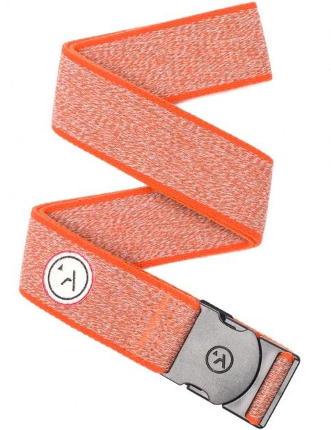 Arcade Vagabond Webbing Belt in Heather Orange