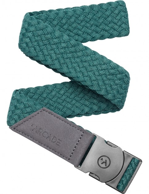 Arcade Vapor Webbing Belt in Dorado Green
