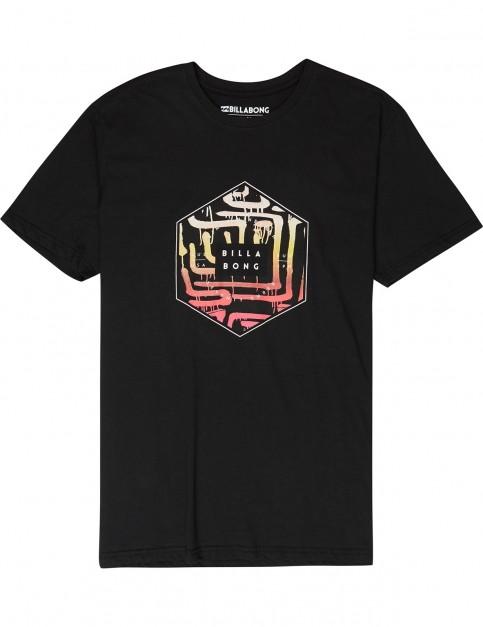Billabong Access Short Sleeve T-Shirt in Black