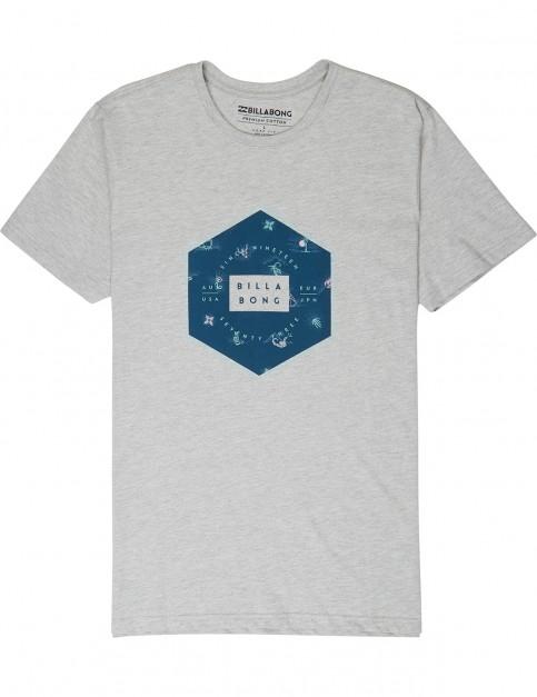 Billabong Access Short Sleeve T-Shirt in Grey
