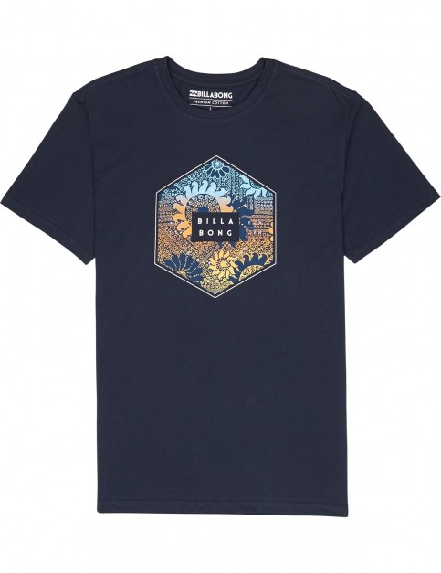 Billabong Access Short Sleeve T-Shirt in Navy