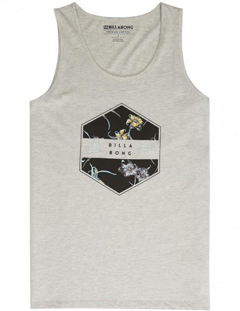 Billabong Access Sleeveless T-Shirt in Grey Heather