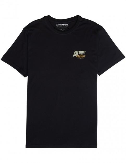 Billabong Alhoa Short Sleeve T-Shirt in Black