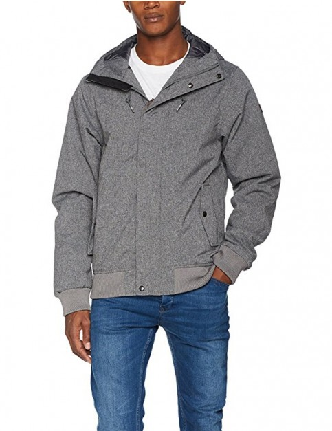 Billabong All Day 10K Parka Jacket in Black Heather