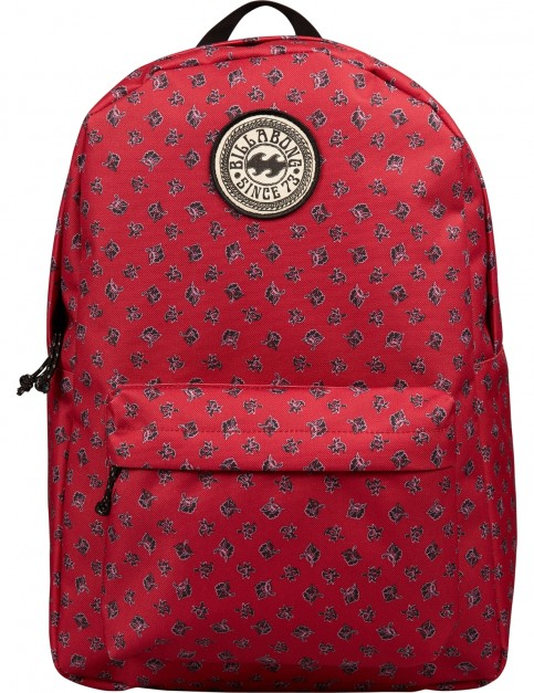 Billabong All Day Backpack in Crimson