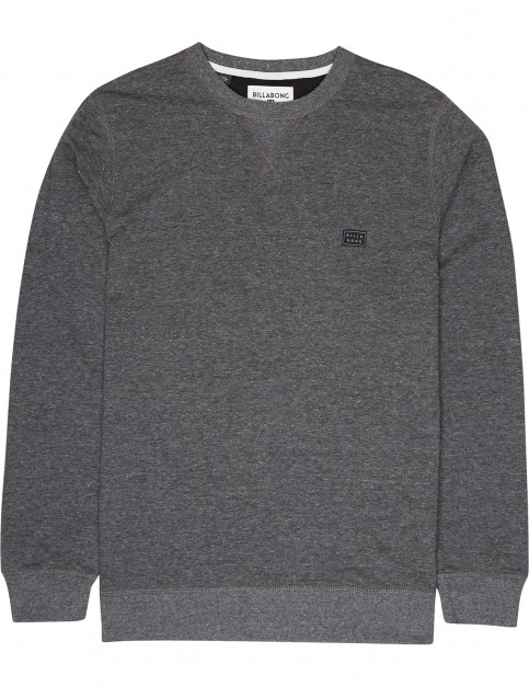Billabong All Day Crew Sweatshirt in Black