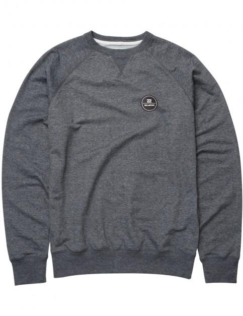 Dark Grey Heather Billabong All Day Crew Sweatshirt