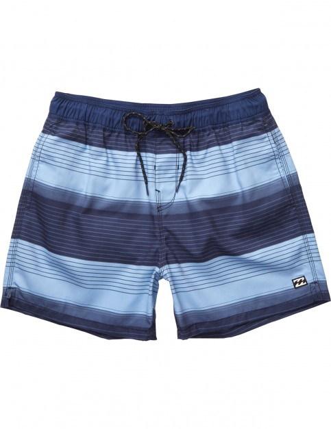 Billabong All Day Geo Short Boardshorts in Navy