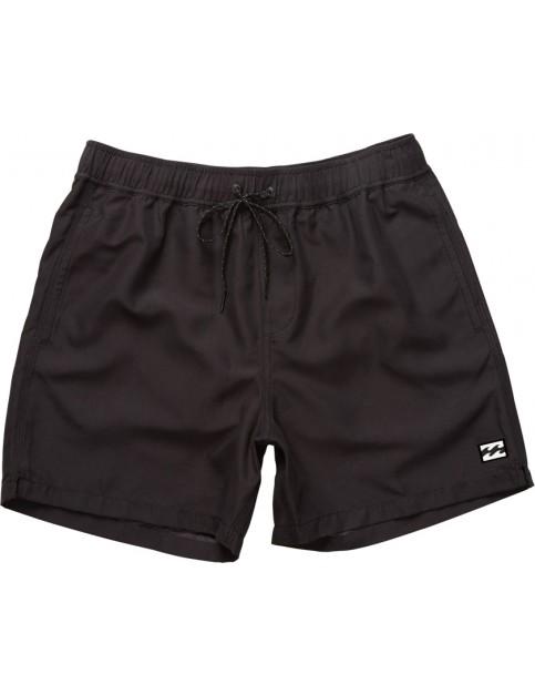 Billabong All Day Layback Short Board Shorts in Black