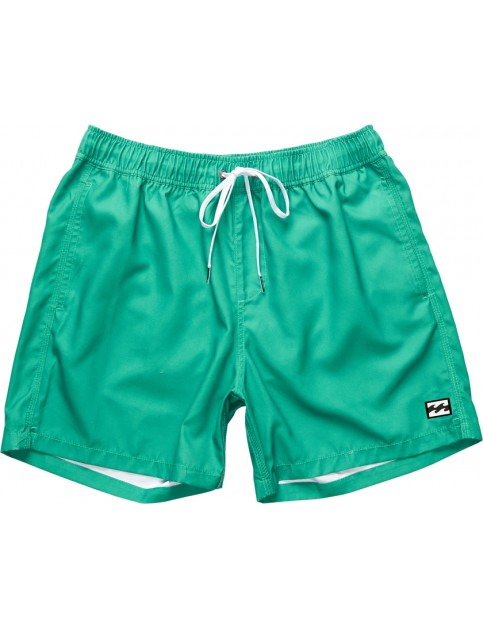 Billabong All Day Layback Short Board Shorts in Dark Jade