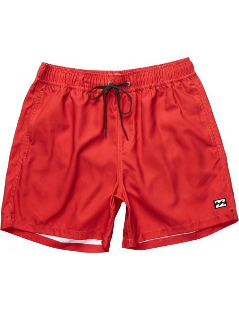 Billabong All Day Layback Short Board Shorts in Fire