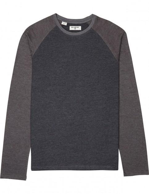 Billabong All Day Long Sleeve T-Shirt in Black