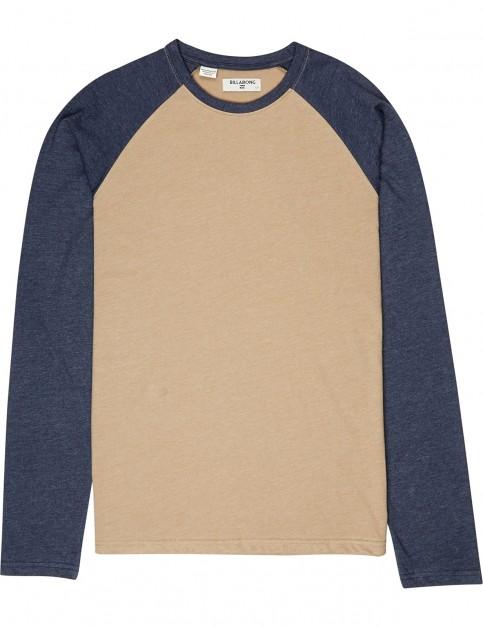 Billabong All Day Long Sleeve T-Shirt in Gravel