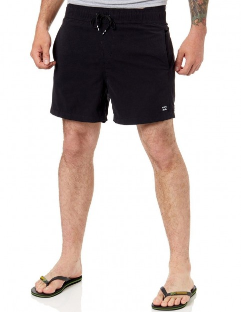 Billabong All Day OG Elasticated Boardshorts in Black