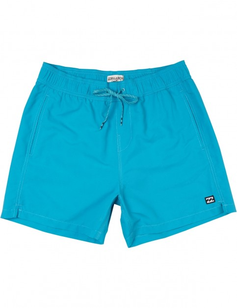 Billabong All Day OG Elasticated Boardshorts in Bright Blue