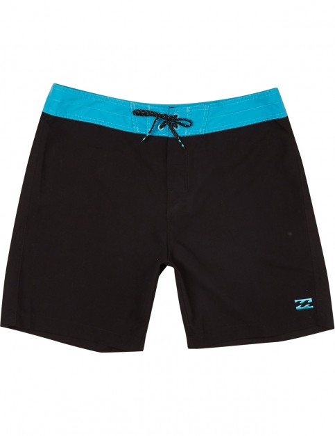 Billabong All Day OG Mid Length Boardshorts in Black