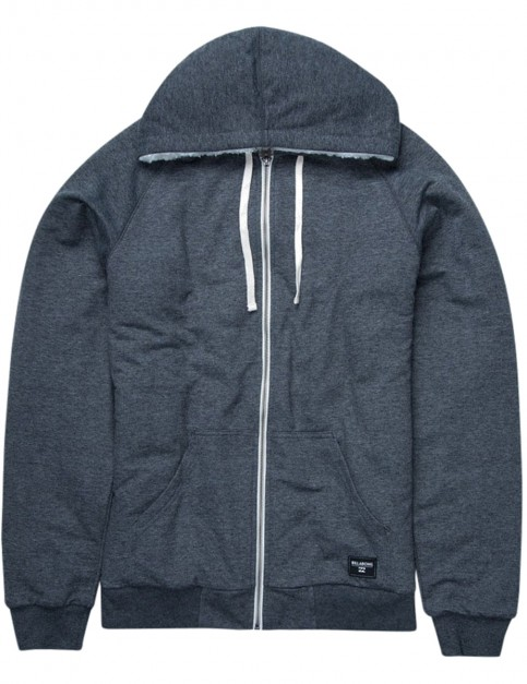 Billabong All Day Sherpa Sherpa Hoody in Navy