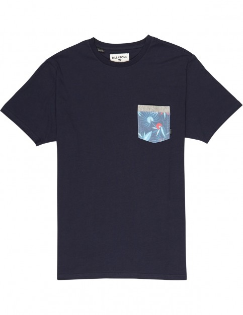 Billabong All Day Short Sleeve T-Shirt in Navy