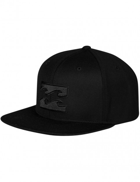 Billabong All Day Snapback Cap in Stealth