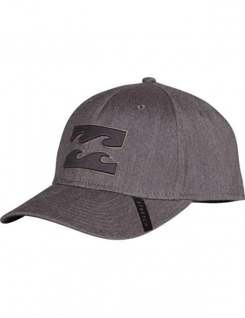 Billabong All Day Stretch Cap in Black Heather