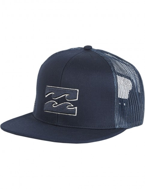 Billabong All Day Trucker Cap in Navy