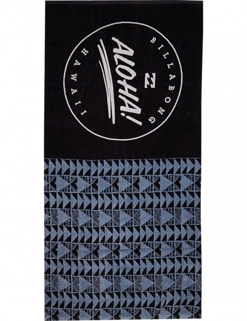 Billabong Aloha Beach Towel in Black