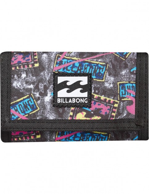 Billabong Atom Leather Wallet in Multi Colour