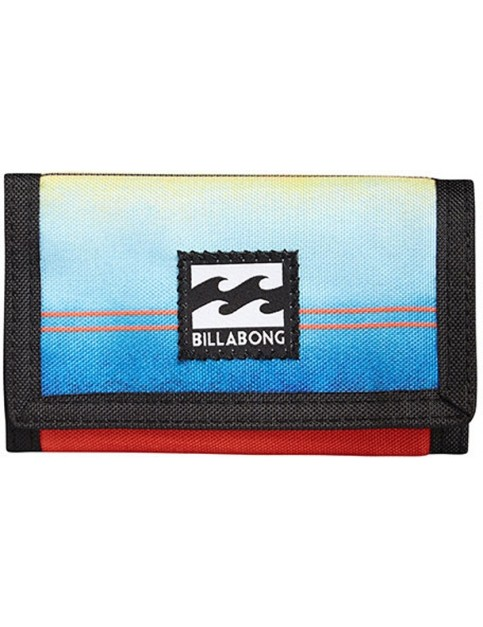 Billabong Atom Polyester Wallet in Orange
