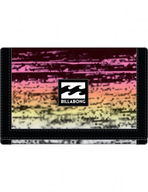 Billabong Atom Polyester Wallet in Black Multi