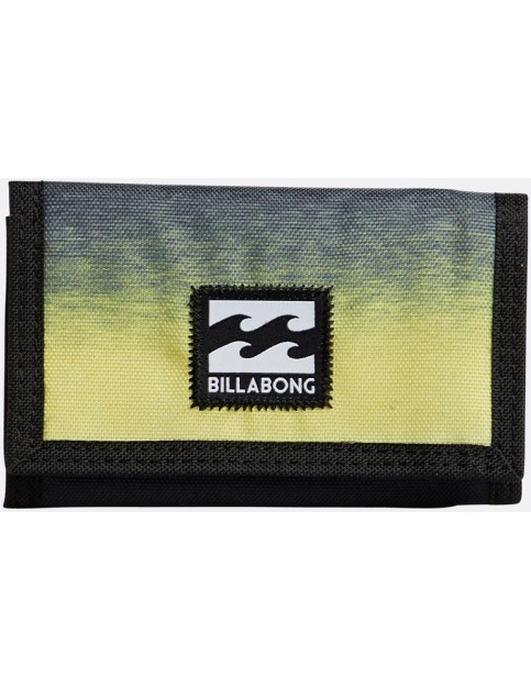 Billabong Atom Polyester Wallet in Neon Yellow