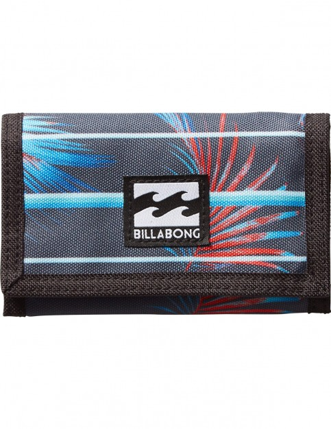 Billabong Atom Polyester Wallet in Stripe