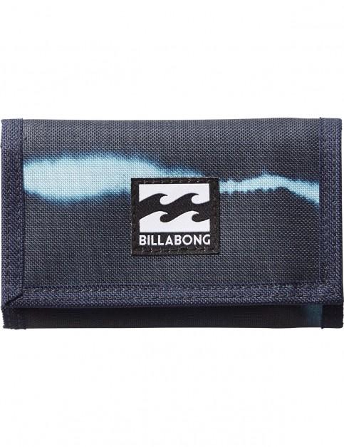 Billabong Atom Polyester Wallet in Tie Dye Stripe