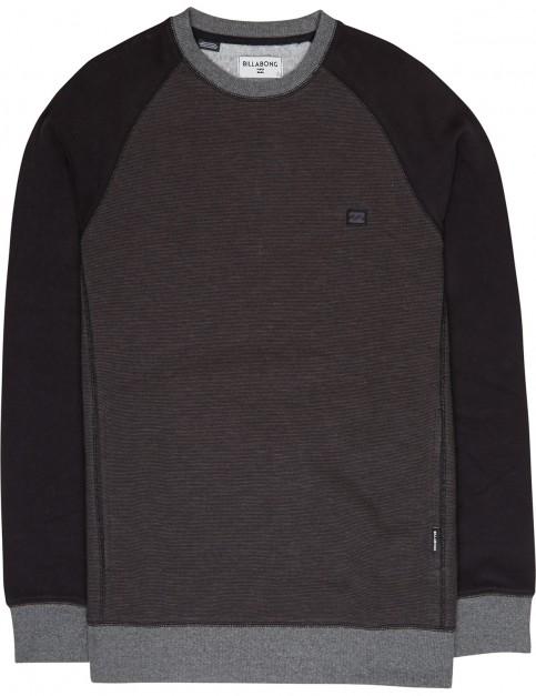 Billabong Balance Crew Sweatshirt in Black