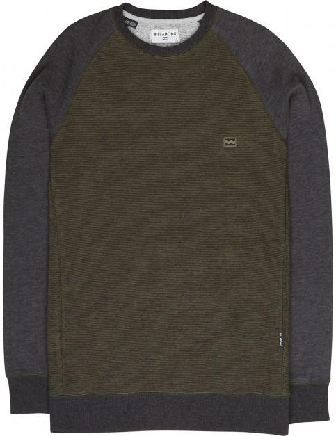 Billabong Balance Crew Sweatshirt in Green