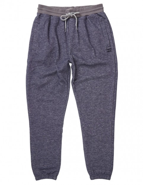 Billabong Balance Cuffed Sweat Pants in Navy Heather
