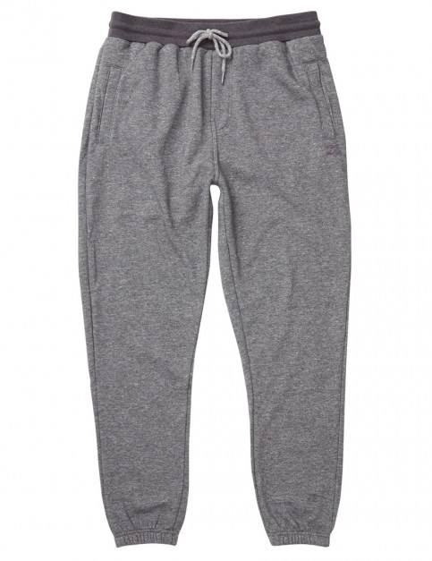 Billabong Balance Cuffed Sweat Pants in Dark Grey Heather