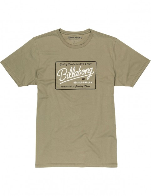 Billabong Baldwin Short Sleeve T-Shirt in Olive