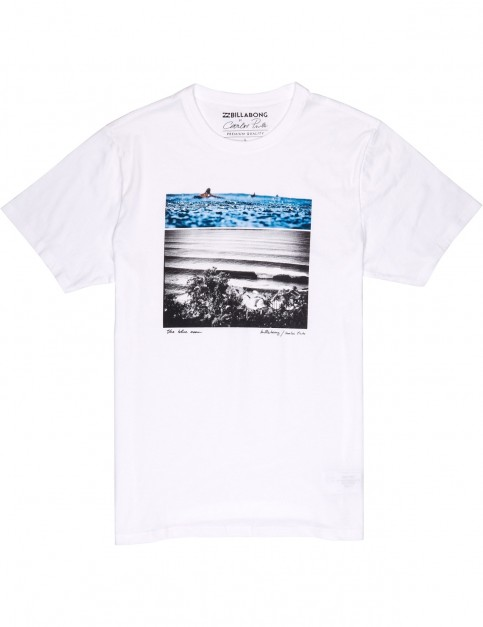 Billabong Blue Dream Short Sleeve T-Shirt in White