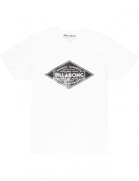 Billabong Bogus Short Sleeve T-Shirt in White