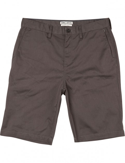 Billabong Carter Shorts in Charcoal Heather