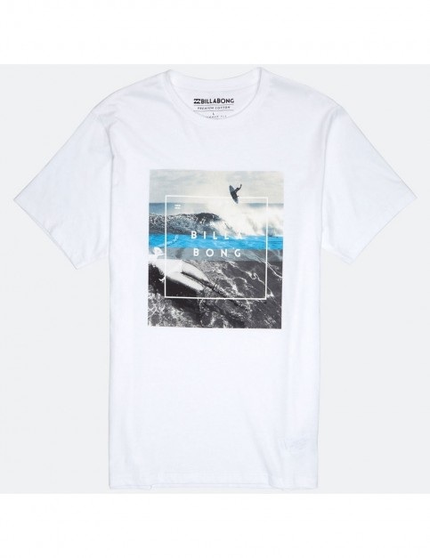 Billabong Chill Short Sleeve T-Shirt in White