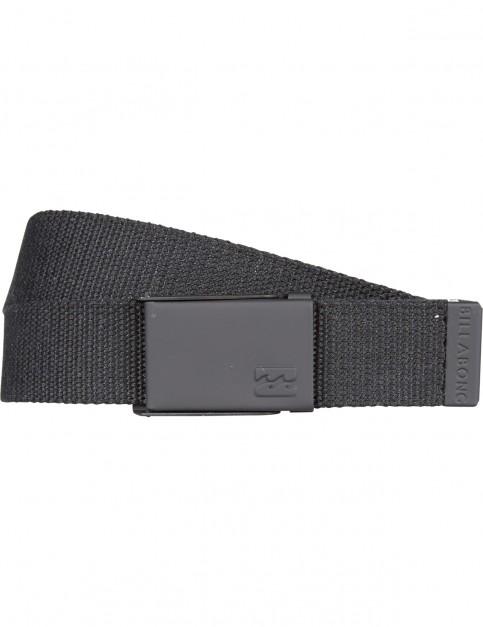 Billabong Cog Webbing Belt in Black